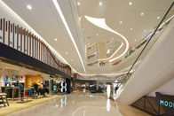 2.5MM PVDF Coating Luxury Gold Metal Ceiling Panels For Shopping Mall Commercial Building