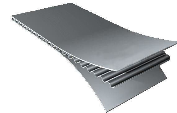 Waterproof ACCP Corrugated Aluminum Roofing Panels 3200mm / 4000mm Length