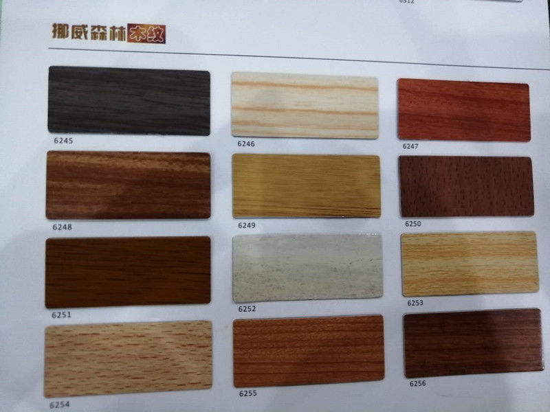Durable Wooden Aluminium Composite Panel For Hospital , Hotel , Office
